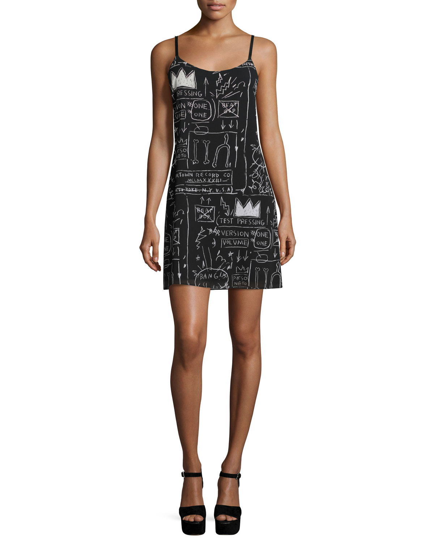 Emmie Printed Slip Dress