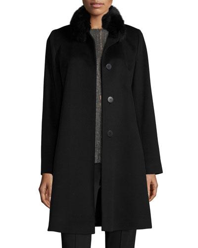 Italian Cashmere Coat | bergdorfgoodman.com