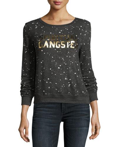 Constellation Logo Sweatshirt, Gray