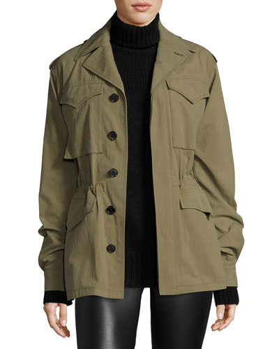 The Army Field Jacket, Green