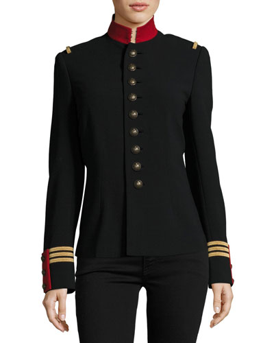 The Officer's Jacket, Black