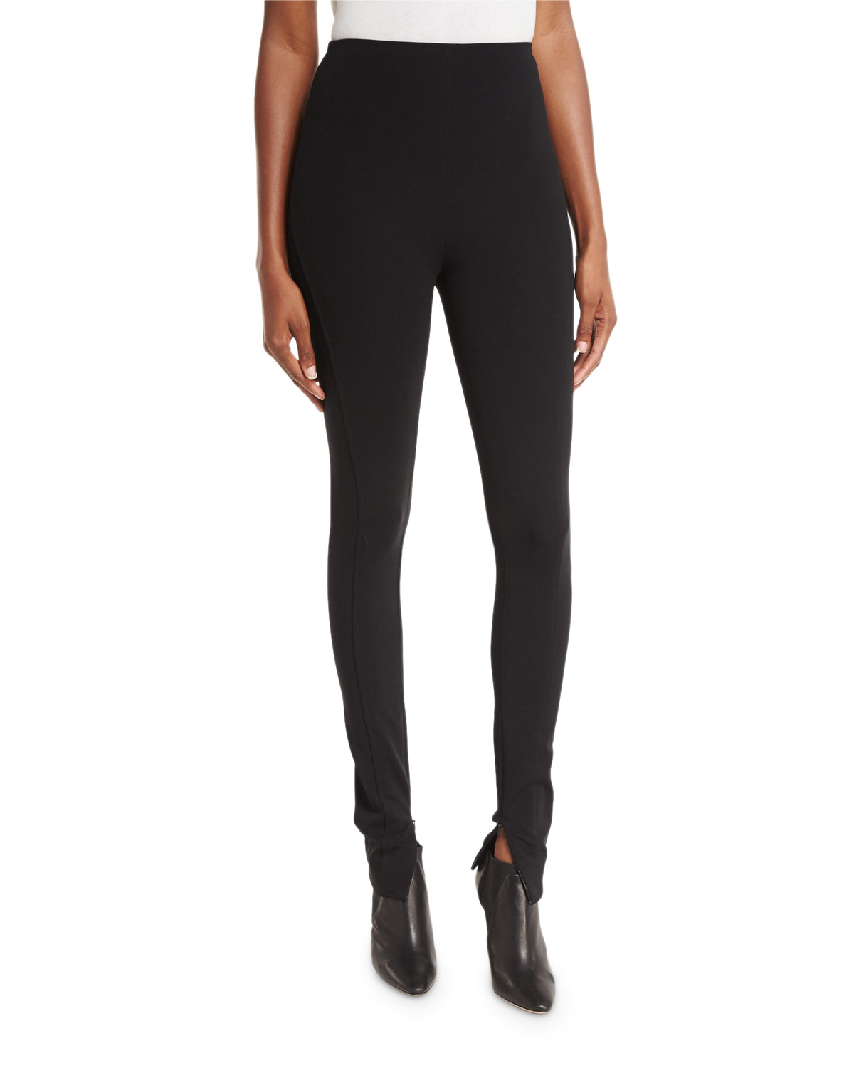 Leland High-Rise Leggings, Black