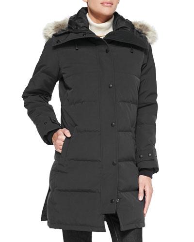 Shelburne Parka with Fur Hood