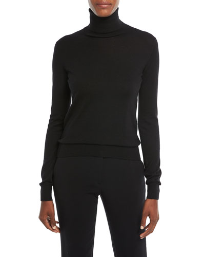 Long-Sleeve Cashmere Turtleneck Sweater Quick Look. Ralph Lauren Collection