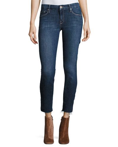The Looker Ankle Fray Girl-Crush Denim Jeans