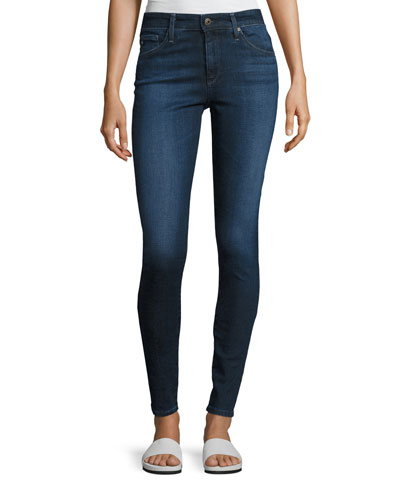 The Farrah High-Rise Skinny Jeans, Blue