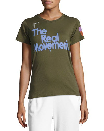 The Real Movement Short-Sleeve T-Shirt, Green