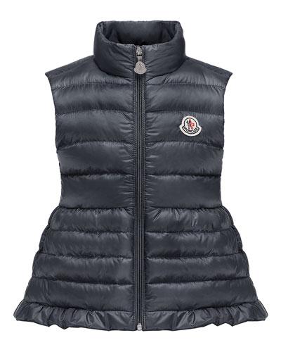 Cherame Down Lightweight Down Puffer Vest, Size 4-6