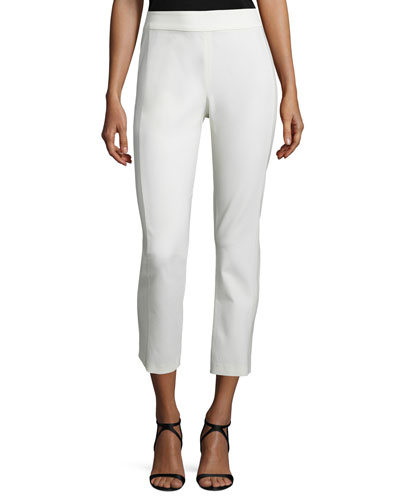 Atlantic Ankle Pants, White