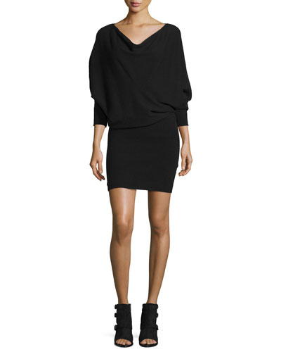 Athel B Long-Sleeve Sweater Dress