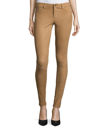 The Suede Full-Length Legging