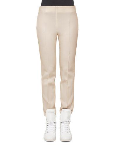 Melissa Stretch-Flannel Pants