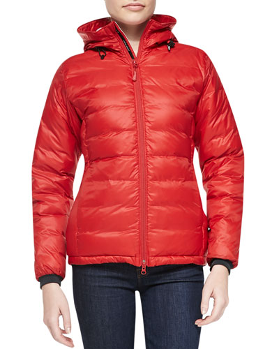 Camp Hooded Packable Puffer Jacket