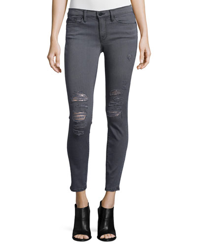 Le Skinny Satine Distressed Jeans, St. Quintin Shred