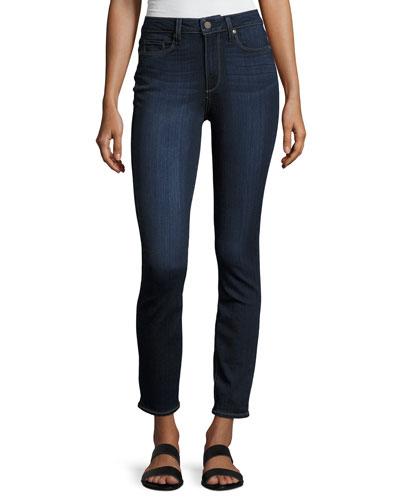 Hoxton Hartmann High-Rise Skinny Jeans, Blue