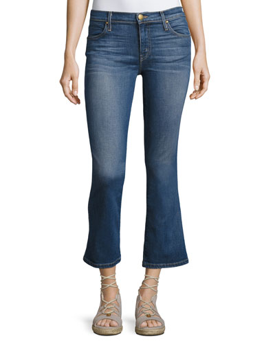 The Low-Rise Nerd Kick-Flare Jeans, Trail Wash