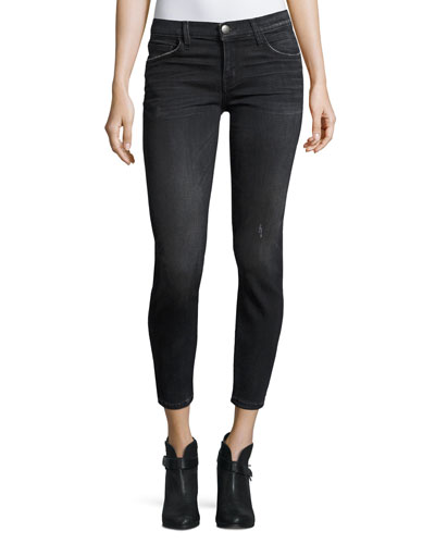 The Stiletto Cropped Skinny Jeans, Sellwood Destroy