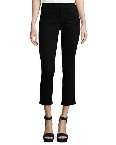 Mara Instasculpt Cropped Straight Jeans, Nightwatch