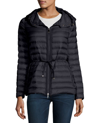 Periclase Quilted Shell Jacket in Blue