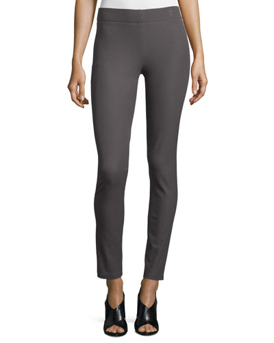 Stretch Gabardine Leggings