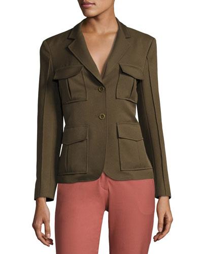 Lackman Prospective Safari Jacket, Green