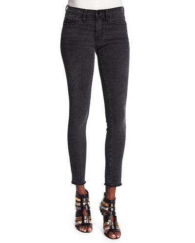 Le Skinny de Jeanne Ankle Jeans, Muddywaters Gray