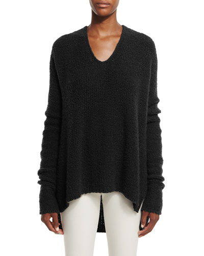 Cashmere Cloud V-Neck Sweater