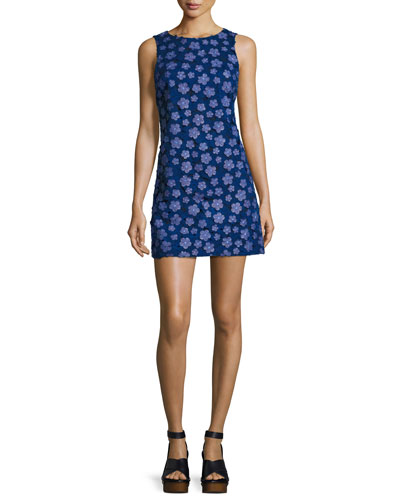 Clyde A-Line Shift Dress, Multi