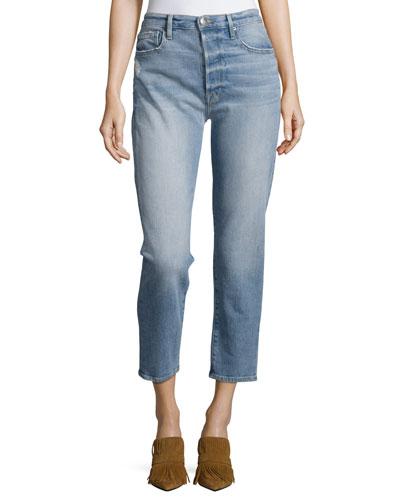Le Original Cropped Straight Jeans, Jones