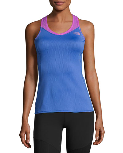 Runagade Mesh Tank Top, Blue/Purple