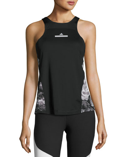 Run Adizero Tank Top, Black