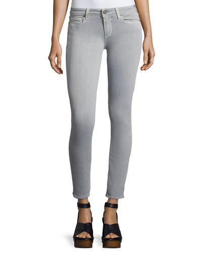 Verdugo Skinny Ankle Jeans, Gray