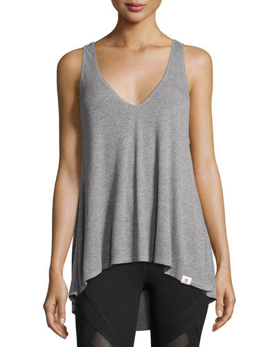 Serenity Performance Tank Top, Light Gray