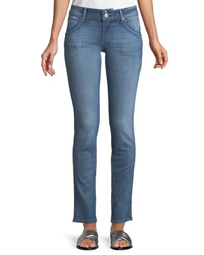 Collin Mid-Rise Skinny Jeans, Indigo