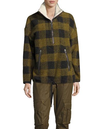 Gilas Buffalo Check Pullover Jacket