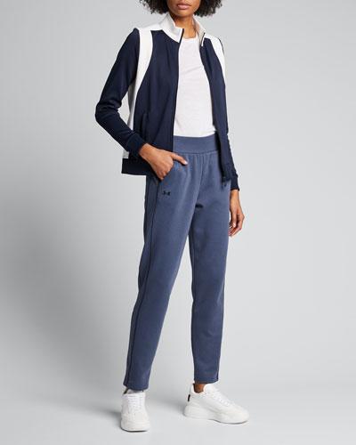 Colorblock Track Jacket, Blue/White
