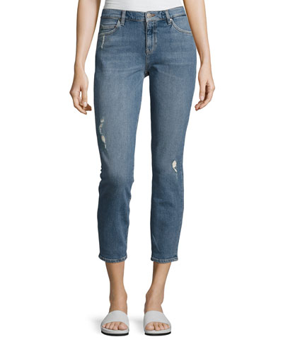Tomboy Skinny Boyfriend Denim Jeans, Arran