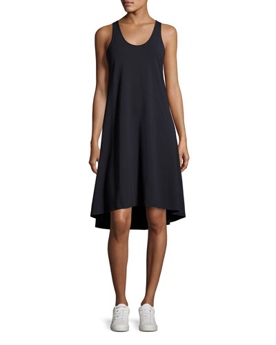 Laurem Rubric Sleeveless Shift Dress, Blue