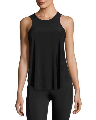 Molly Muscle Tank Top, Black