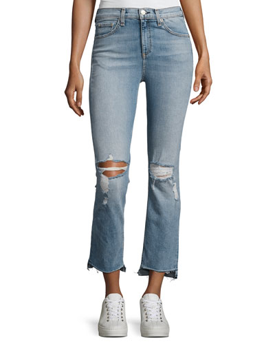 10-inch Stove Pipe Denim Jeans