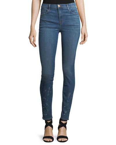 Maria High-Waist Skinny Jeans