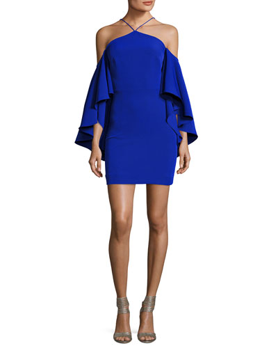 Chelsea Cady Cocktail Dress, Cobalt
