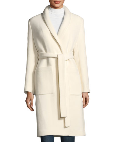 Boiled Wool Car Coat