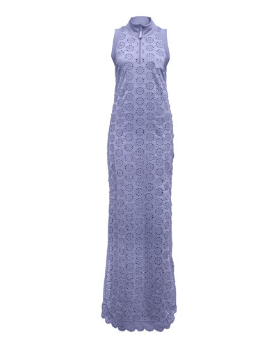 Tricot Tearaway Dress, Lavender