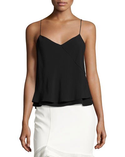 Rila Camisole Top, Black