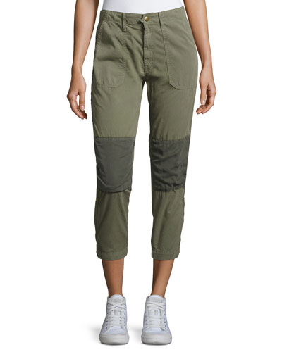 Army Racketeer Jogger Pants, Green