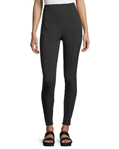 Seamed High-Waist Leggings