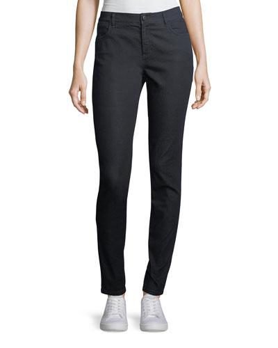 Mercer Primo Stretch-Denim Mid-Rise Skinny Jeans