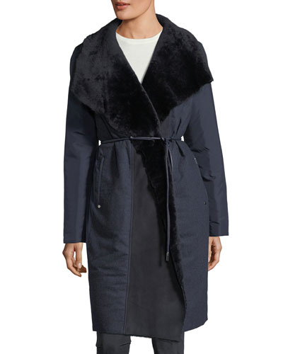 Farrah Alpine Outerwear Reversible Coat