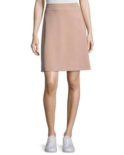 Camogie High-Waist Mini Skirt, Pink